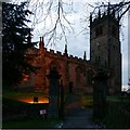 SJ8969 : Church of St James, Gawsworth by Alan Murray-Rust