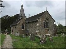 TQ1328 : Itchingfield Church by Chris Thomas-Atkin