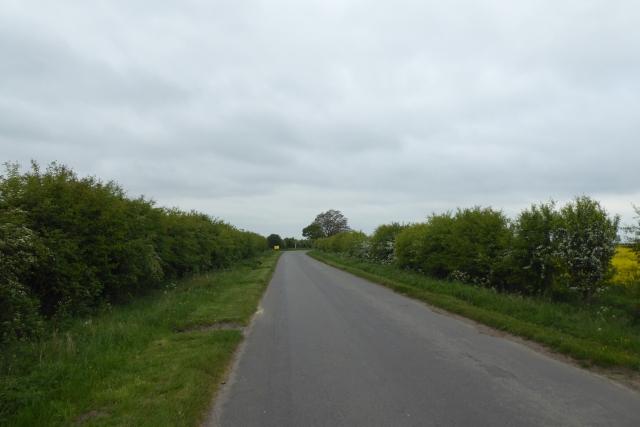 Butterwick Road west of Sand Farm
