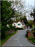 SO8688 : Lane and public house at Greensforge, Staffordshire by Roger  Kidd