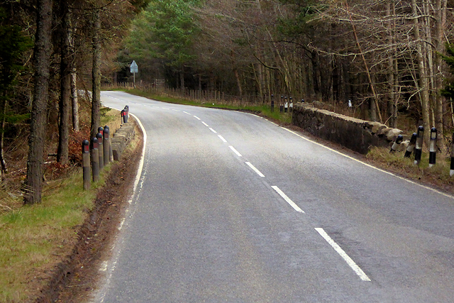 A939, Old Military Road, Cottartown Belts