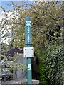 SK0189 : Peak & Northern Footpaths Society sign #159 by Graham Hogg