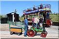 SK2406 : Statfold Barn Railway - tram by Chris Allen