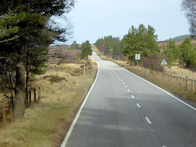 The Old Military Road near Upper Derraid