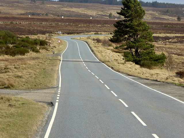 Old Military Road, Dava Moor