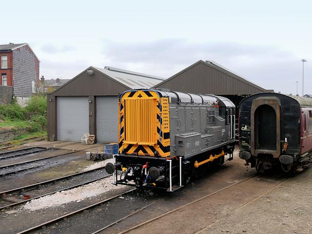 East Lancashire Railway Shunter at Buckley Wells
