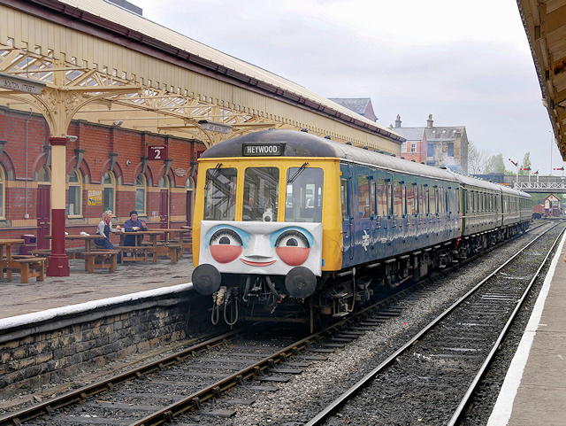 A Day Out with Thomas, Daisy the DMU at Bolton Street Station