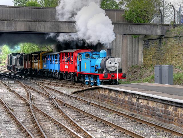 Thomas Arrives at Bury