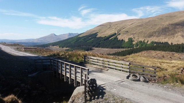 Bridge on the Forestry Commission road