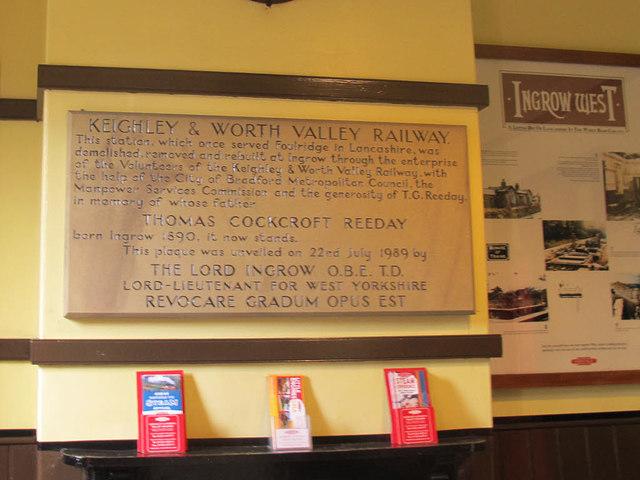 KWVR - plaque at Ingrow West