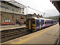 SE0641 : Carlisle train at Keighley by Stephen Craven