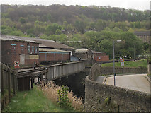 SE0641 : Worth bridges, Keighley  by Stephen Craven