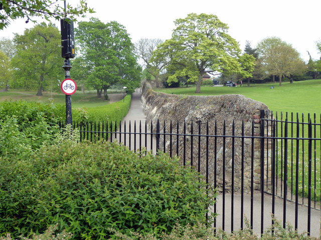 Roman Wall, Castle Park, Colchester
