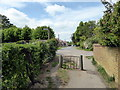 TL9824 : Footpath leading to Park Road, Colchester by PAUL FARMER