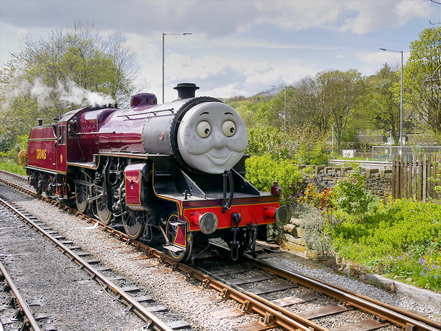 A Day Out with Thomas, James the Red Engine