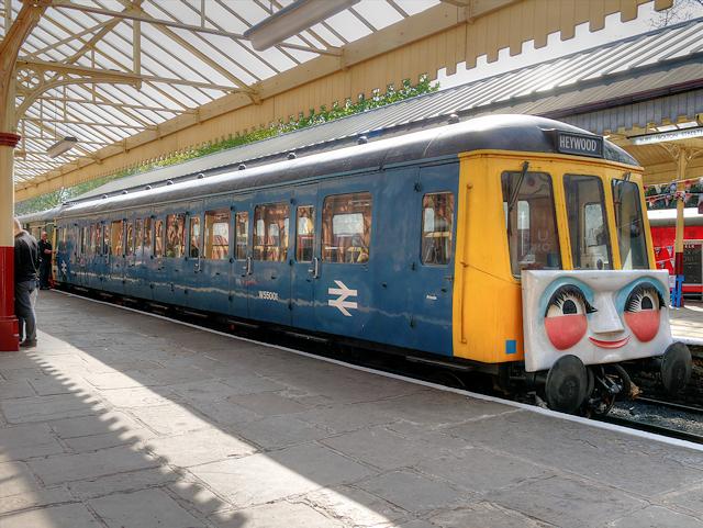 Daisy the DMU at Bolton Street Station