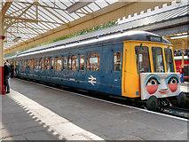 SD8010 : Daisy the DMU at Bolton Street Station by David Dixon