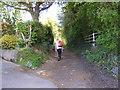 SO8494 : Church Lane Path by Gordon Griffiths