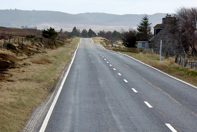 Old Military Road Southbound at Drumguish