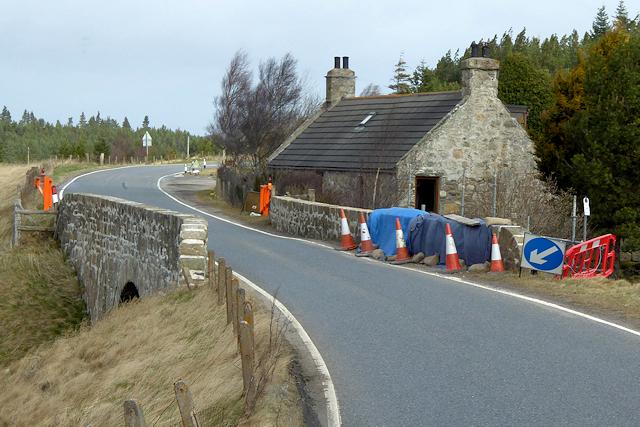 Old Military Road, Bridge over Allt na Ceàrdaich