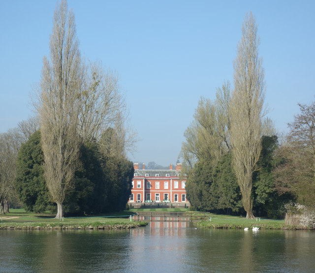 Fawley Manor from the Thames Path