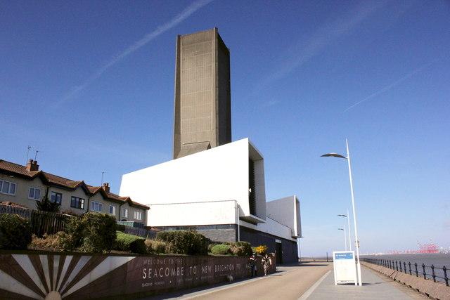 Promenade and Ventilation Tower, Seacombe