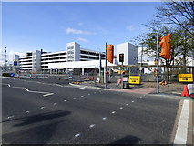 NS4865 : PUDO construction site at Glasgow Airport by Thomas Nugent
