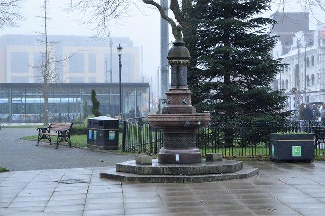 Water fountain, Kay Gardens
