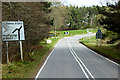 NJ0050 : A940 near Logie by David Dixon