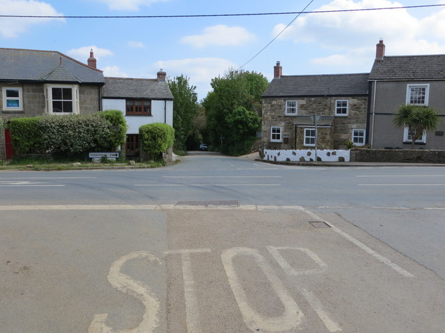 Crossroad in Townshend
