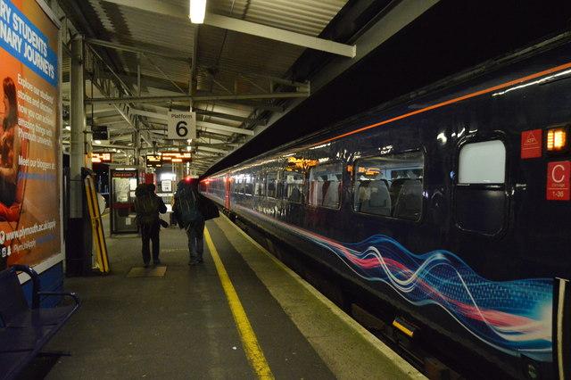 The train from London Paddington