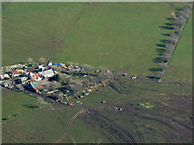 NS4259 : Mountop Farm from the air by Thomas Nugent