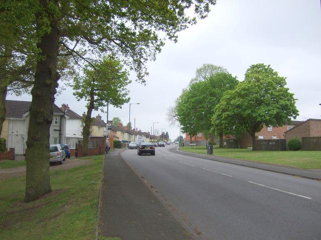 School Road, Yardley Wood