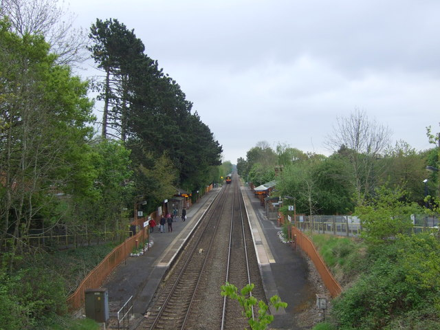Yardley Wood Railway Station