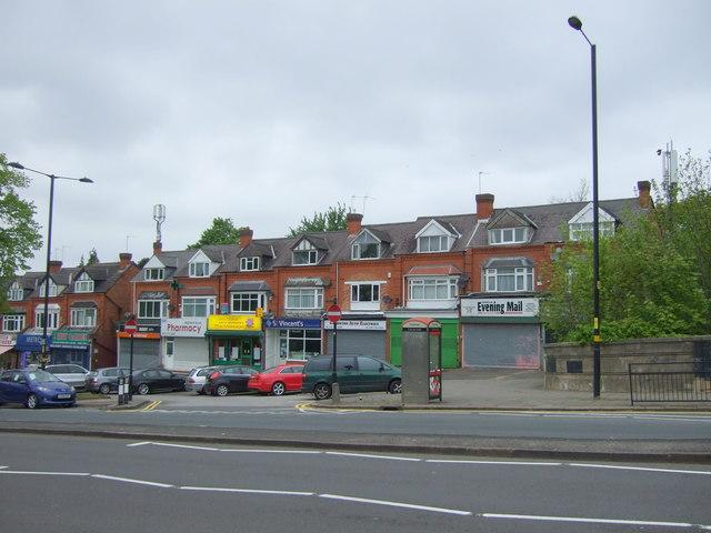 Shops on Highfield Road, Yardley Wood