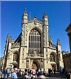 ST7564 : Bath Abbey by Chris Thomas-Atkin
