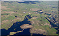 NS3857 : Barcraigs Reservoir from the air by Thomas Nugent