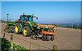 NH7055 : John Deere tractor by valenta