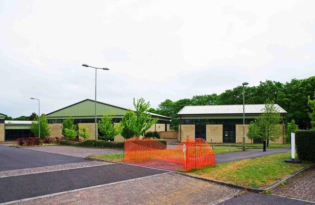 Empty units on West Oxfordshire Retail Park, Carterton, Oxon