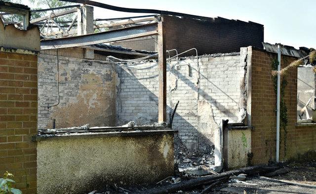 Former Joss Cardwell Centre (fire damage), Belfast - May 2017(3)