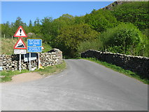 NY2101 : Road Bridge at the western end of Hardknott Pass by G Laird