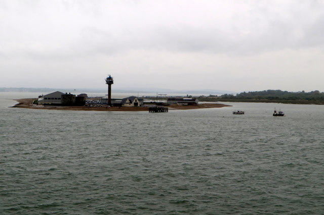 Lookout and lifeboat station on Calshot Point