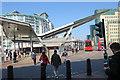 TQ3078 : Vauxhall Bus Station by Anne Burgess