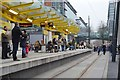 SJ8398 : Exchange Square Metrolink Station by N Chadwick