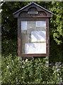 ST5766 : Dundry notice board by Neil Owen