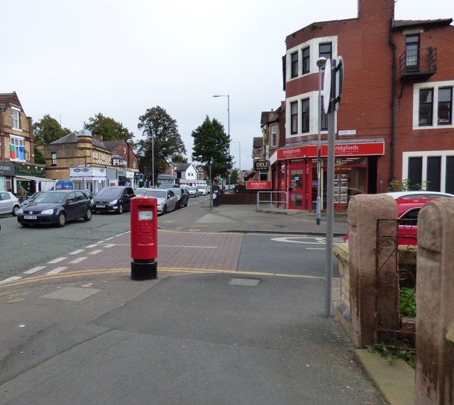 On the corner of Barlow Moor Road and Groby Road