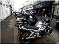 C8540 : Motor bikes, Main Street, Portrush by Kenneth  Allen
