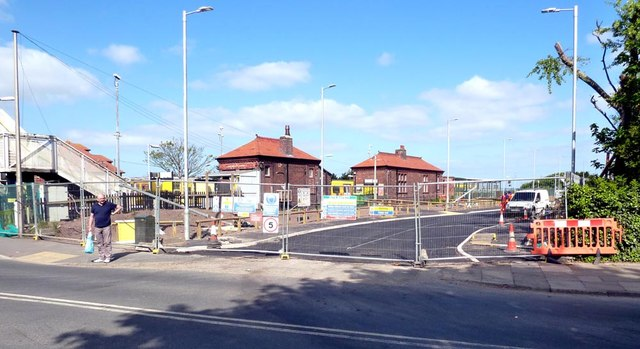 New car park at Hall Road Station is almost ready for use