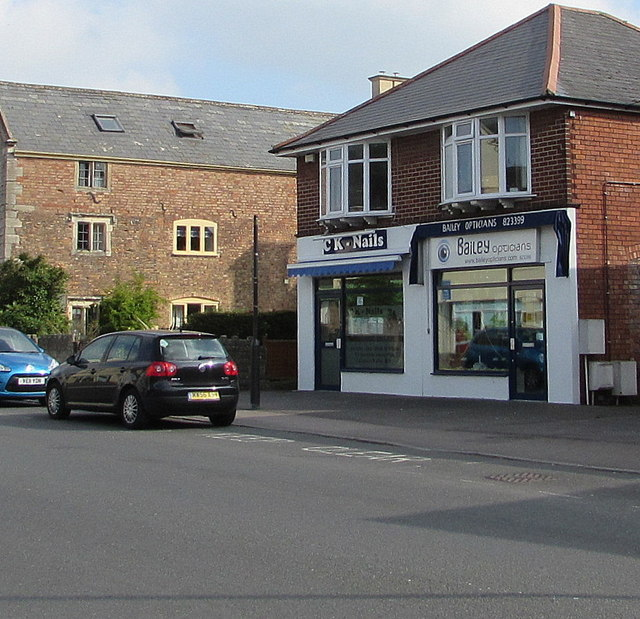 CK Nails and Bailey Opticians, Stonehouse