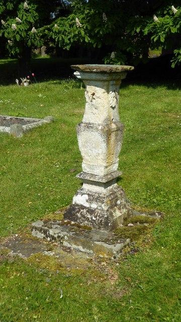 Sundial, Burford churchyard